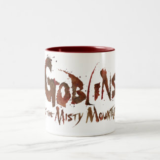 Goblins of the Misty Mountains Two-Tone Coffee Mug