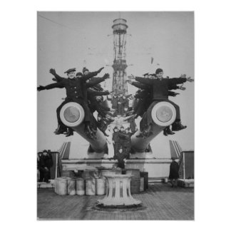 """""""Gobs"""" y armas en USS Tejas Posters"""