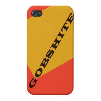 """Gobshite "" iPhone 4 Fundas"