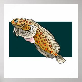 Goby Fish Print