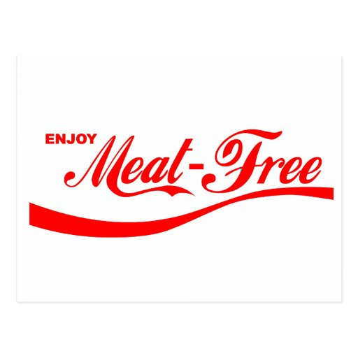 Goce de Carne-libre Tarjetas Postales