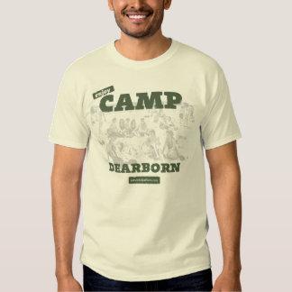 Goce de la camiseta para hombre de Dearborn del Playeras