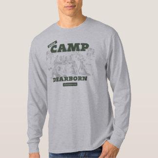 Goce de la camiseta para hombre de Dearborn LS del Poleras