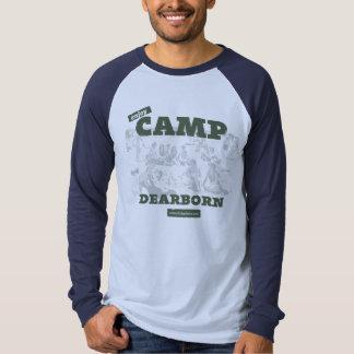 Goce de la camiseta para hombre del raglán de camisas