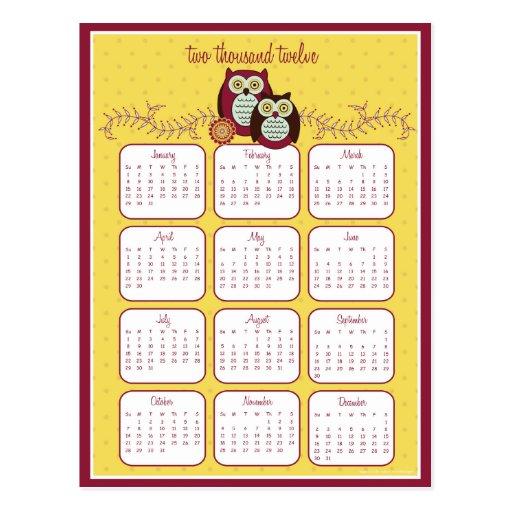Goce de la postal del calendario de la sol 2012
