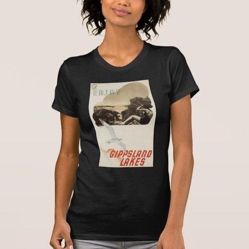 Goce de los lagos Gippsland Camiseta