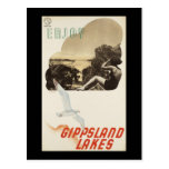 Goce de los lagos Gippsland Postales
