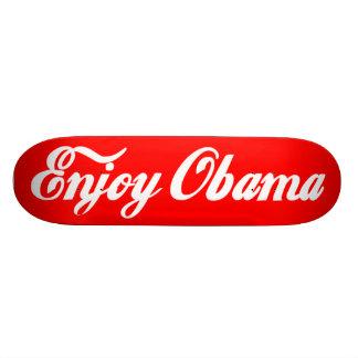 Goce de Obama Tabla De Skate