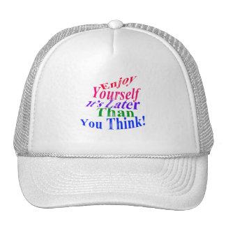 ¡Gócese! Gorras De Camionero