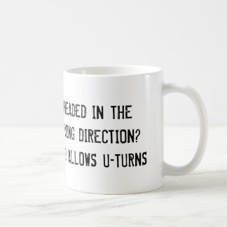 God allows U-Turns religious Coffee Mug