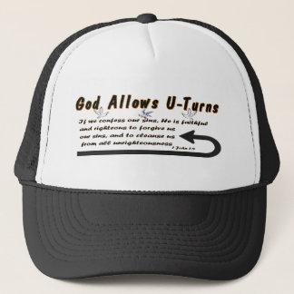 God Allows U-Turns Trucker Hat