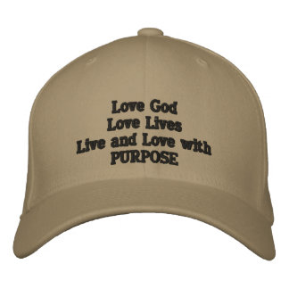 God and Country.The order of Love Baseball Cap