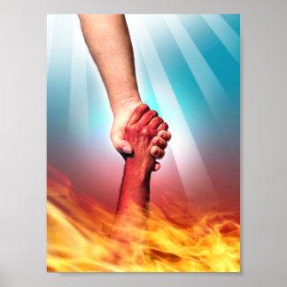 God and Devil Mini Poster