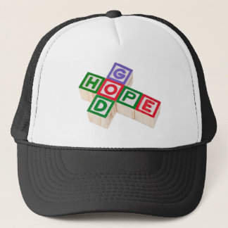 God and hope trucker hat