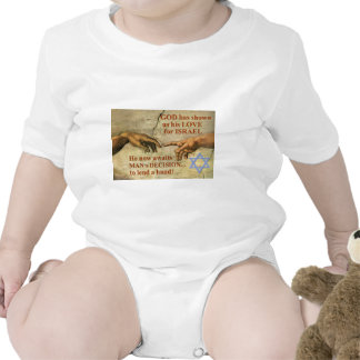 God...and Man...lend a hand for Israel Romper