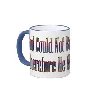 God and Mothers saying mug