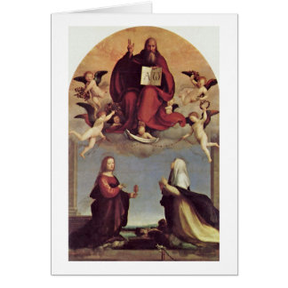 God And Sts. Mary Magdalen By Fra Bartolomeo Cards