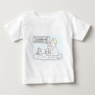 god angel biodegradable creation baby T-Shirt