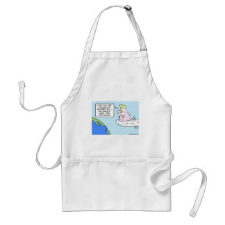god angel earth gravity thirty two feet per second apron