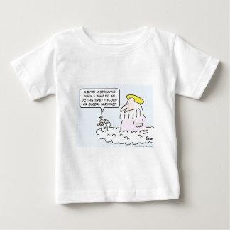 god angel flood global warming baby T-Shirt