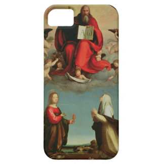 God appearing to St. Mary Magdalen and St. Catheri iPhone SE/5/5s Case
