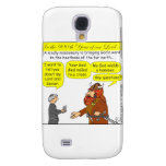 God / Atheist humor Cartoon in color Samsung Galaxy S4 Cover