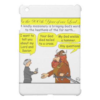 God / Atheist humor Cartoon in color iPad Mini Case