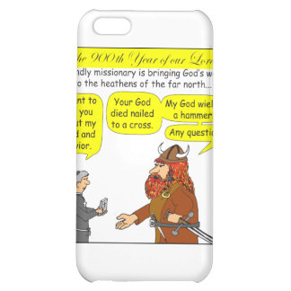 God / Atheist humor Cartoon in color iPhone 5C Covers