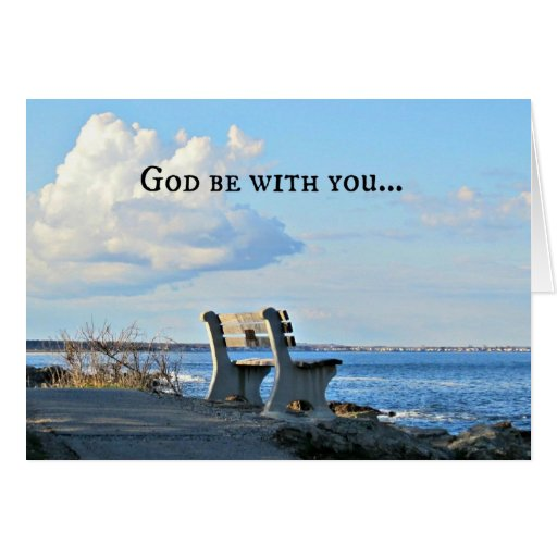 God Be With You Till We Meet Again! Card | Zazzle