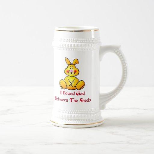 God Between The Sheets Coffee Mugs
