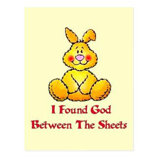 God Between The Sheets Postcard