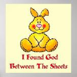 God Between The Sheets Print