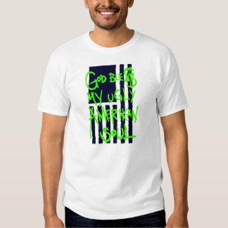 """God Ble$$ My Ugly Amerikan Soul"" Destrado Tee Shirt"