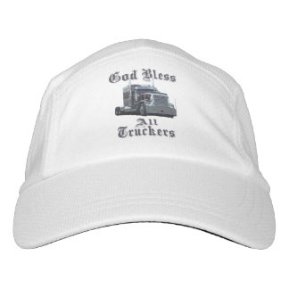 God Bless All Truckers Hat