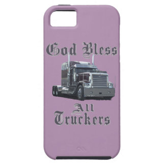 God  Bless All Truckers iPhone SE/5/5s Case