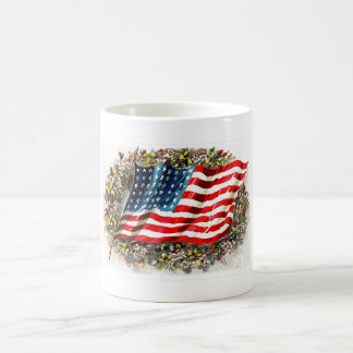 God Bless America.4th of July Gift Mug