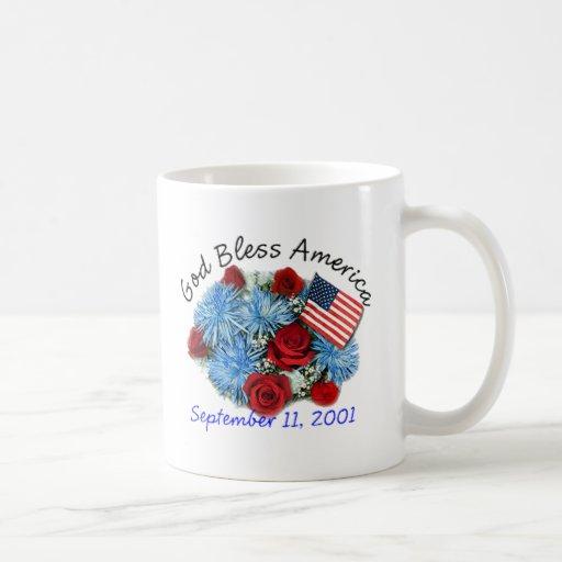 God Bless America, 9/11 Memorial Mugs