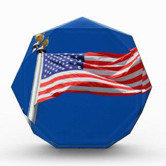 God Bless America, American Flag, Patriot Support Award