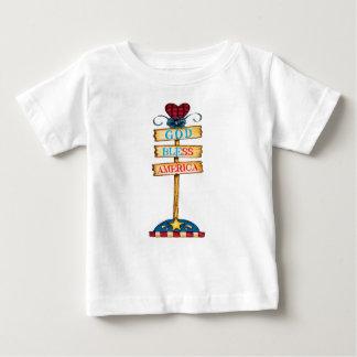 "God Bless America ""Baby T-shirt"