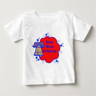 God Bless America Baby T-Shirt