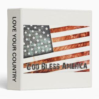 God Bless America Binder