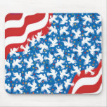 God Bless America by Metin Mouse Pad