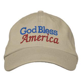 God Bless America by SRF Embroidered Baseball Hat