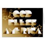 God Bless America Cards