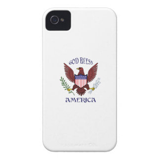 GOD BLESS AMERICA Case-Mate iPhone 4 CASES