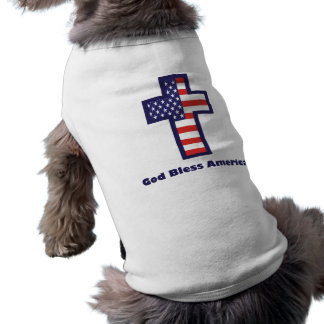 God Bless America Doggie Tee