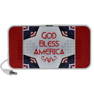 God bless America Doodle Speaker