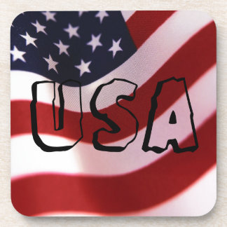 God bless America Drink Coaster