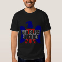 God Bless America Eagle Patriotic T-Shirt