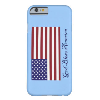 God Bless America Flag Barely There iPhone 6 Case
